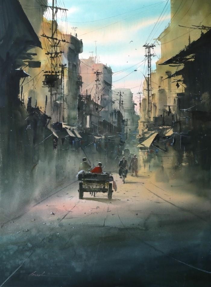 Иранский художник.