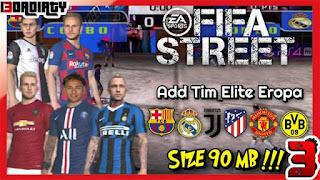 تحميل لعبة FIFA Street 4 للاندرويد PSP من ميديا فاير