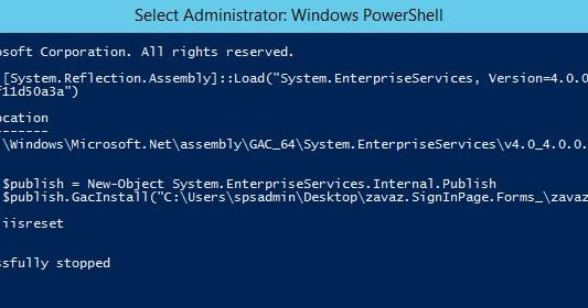 How to Install a DLL to the GAC on Windows Server 2012 Using