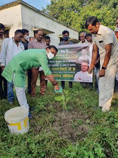 #JaunpurLive : पर्यावरण को सुंदर और संतुलित बनाता है वृक्षारोपण–लल्लन तिवारी