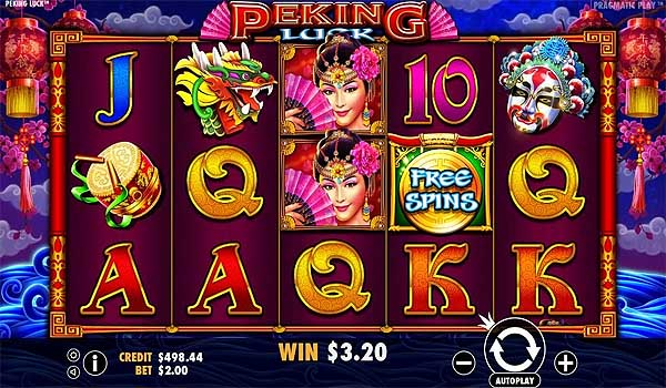Main Gratis Slot Indonesia - Peking Luck (Pragmatic Play)