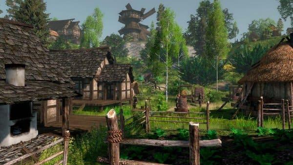 game simulasi peradaban desa