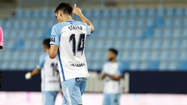 "Scepovic - Málaga -: ""Era importante acabar así"""