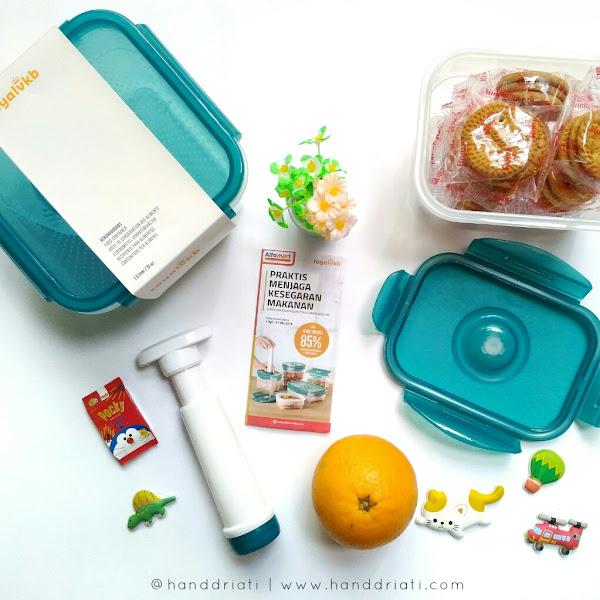 Menjaga Makanan Agar Tetap Segar dan Renyah Dengan Toples RoyalVKB Alfamart