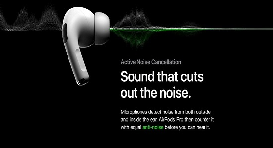How to use noise cancellation and Transparency mode