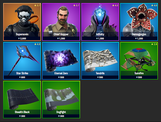 Fortnite Item Shop November 6, 2019