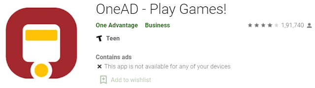 OneAd App