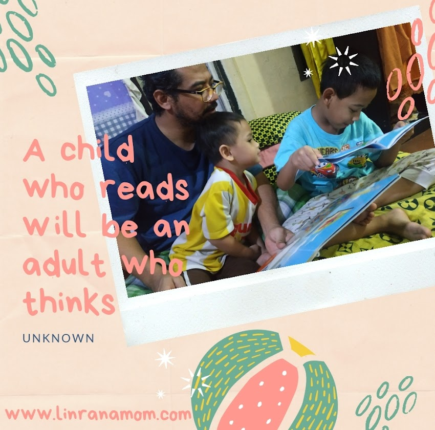 Parenting Blogger Medan: Let's Read, Then Love It