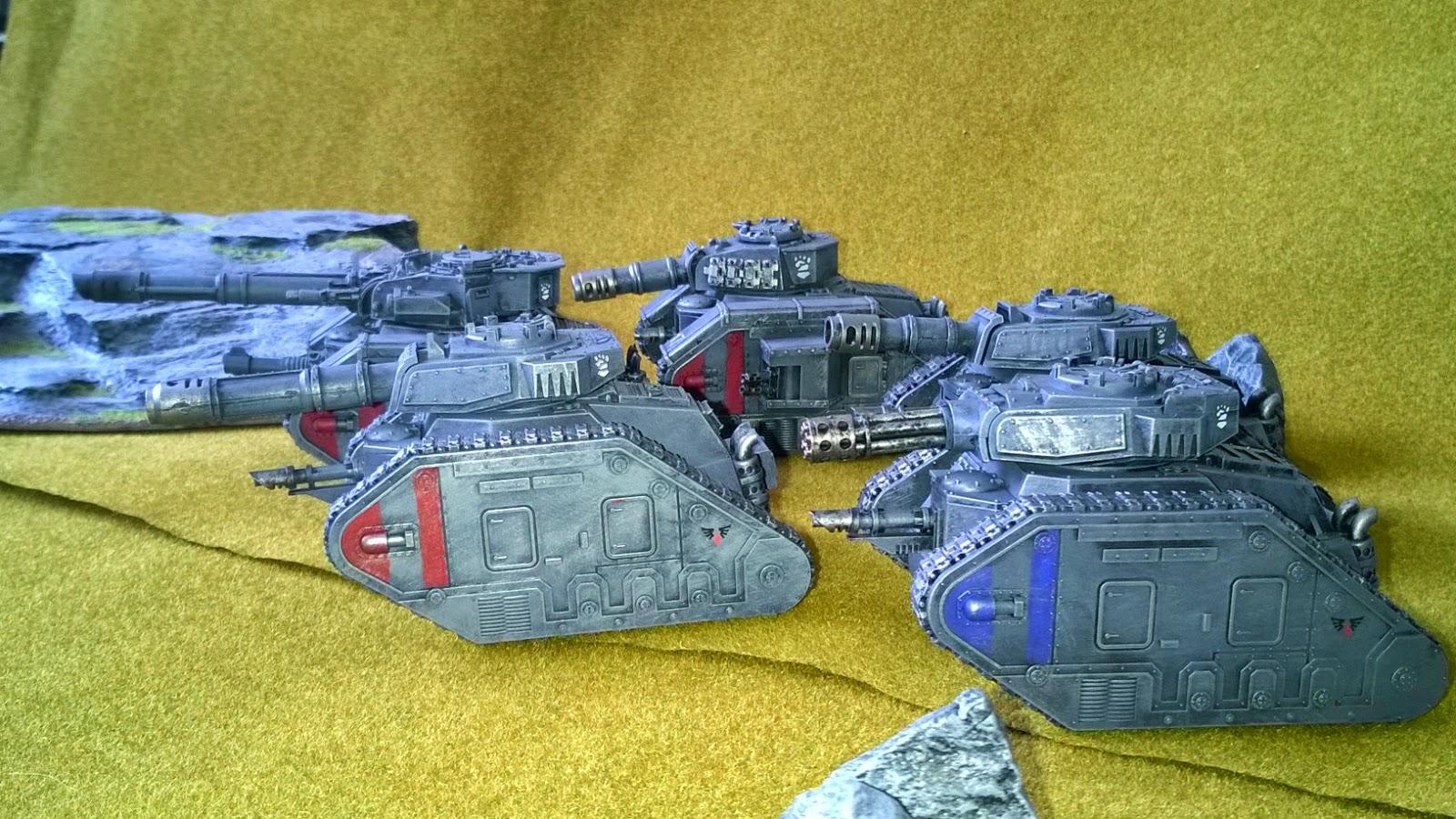 gw imperial guard astra militarum leman russ tank company