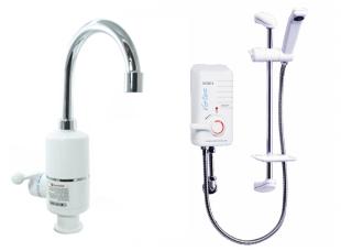 Beslėgiai momentiniai vandens šildytuvai