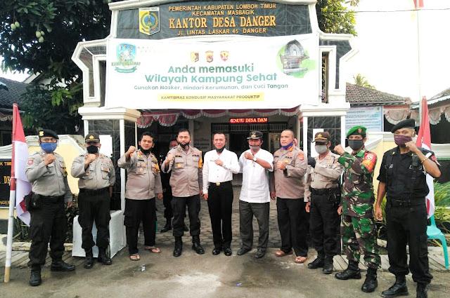 Tim Penilai Lomba Kampung Sehat Polda NTB Kunjungi 4 Desa di Lotim