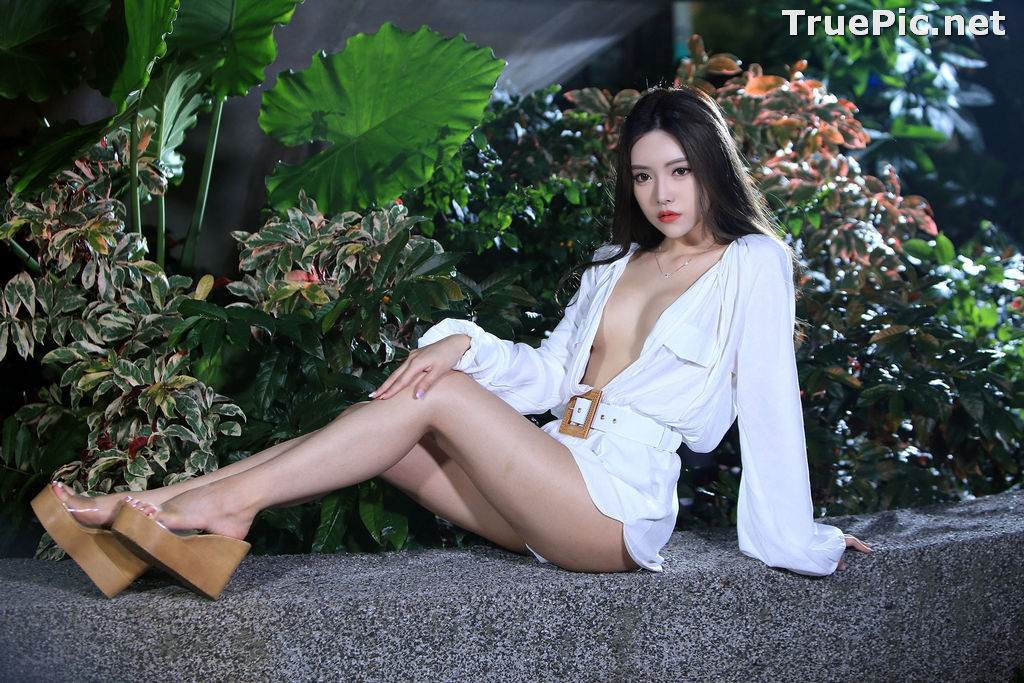 Image Taiwanese Model – 莊舒潔 (ViVi) – Sexy and Pure Baby In Night - TruePic.net - Picture-78