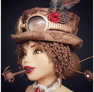 Lady Steampunk - Joane Chopard de Mademoiselle fait des Gâteaux