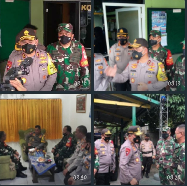 Kapolda Metro Jaya bernostalgia di Koramil 04 Cengkareng
