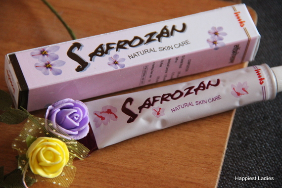Safrozan natural skin care cream