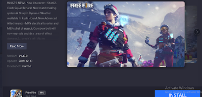 install free fire on gameloop