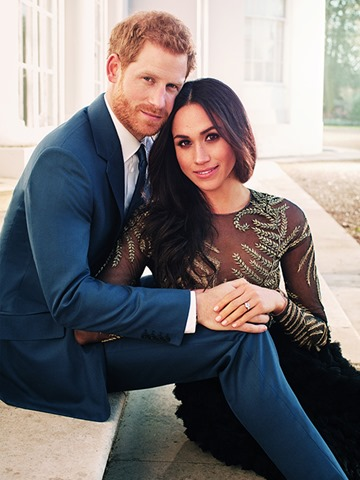 Prince Harry and Meghan's wedding will take place in May