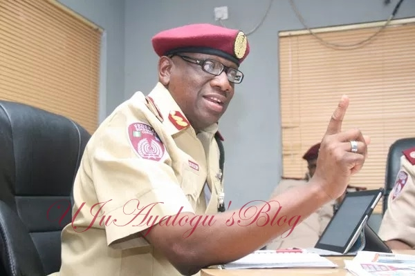 FRSC redeploys 71 senior officers in massive shakeup