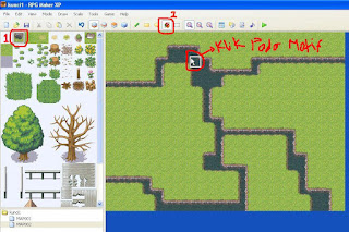Tutorial RPG Maker XP Membuat Map Sungai dengan Mudah