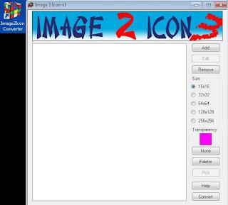 Cara mudah mengubah gambar (.jpg) menjadi Icon