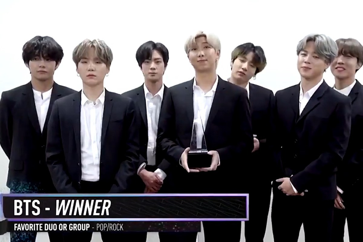 BTS Successfully Wins Three Trophy at The '2019 American Music Awards'