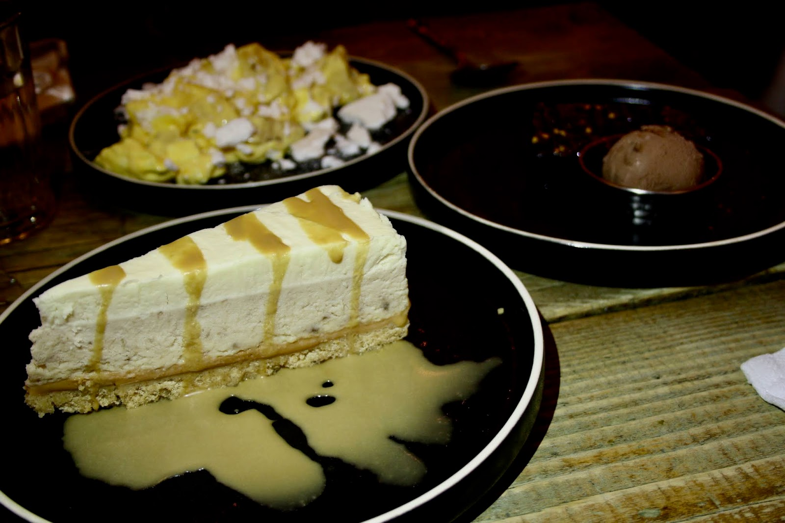 Turtle Bay desserts pudding review caribbean mess toffee cheesecake
