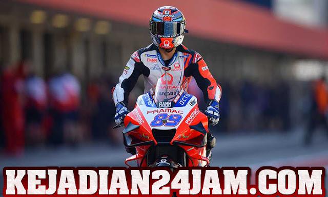 Rider Jorge Martin Rebut Pole Position Pada Balapan Di Austria