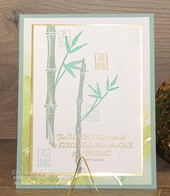 bamboo beauty with expression in ink 2