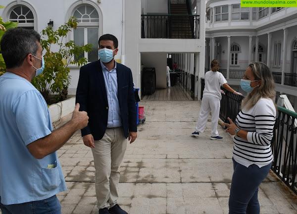 El Cabildo pone en marcha un conjunto de obras para mejorar las instalaciones del Hospital de Dolores