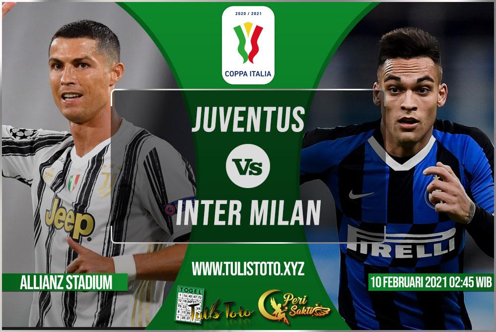 Prediksi Juventus vs Inter Milan 10 Februari 2021