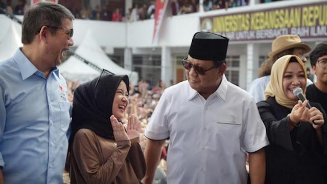 Prabowo: Gimana Mau Dapat Pacar Kalau Nganggur