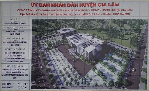 UBND huyện Gia Lâm.