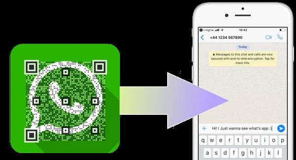 WhatsApp Features 2020 - QR button