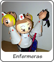 Fofulápices enfermeras personalizados