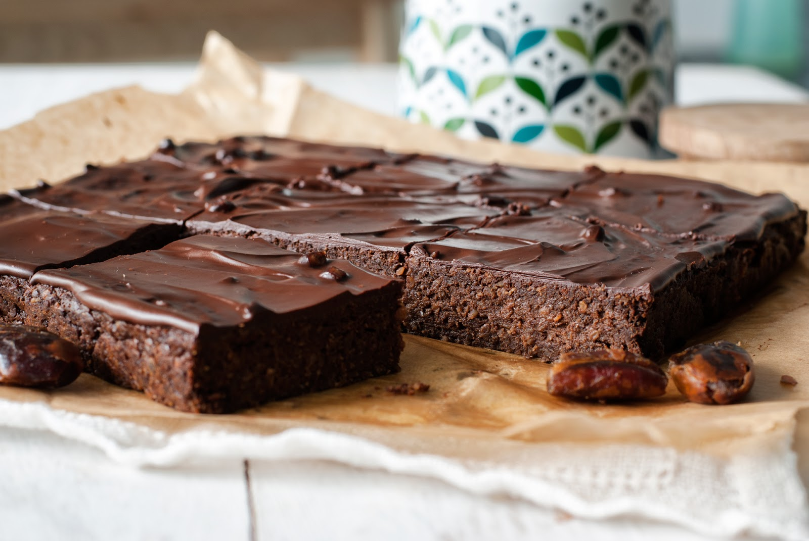 Ciasto czekoladowe bezglutenowe bez cukru bez laktozy