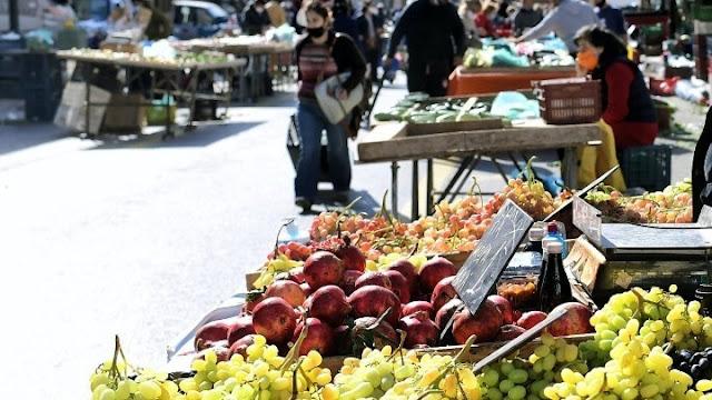Πως θα λειτουργήσει η λαϊκή αγορά της Πέμπτης 8/4 στην Ερμιόνη