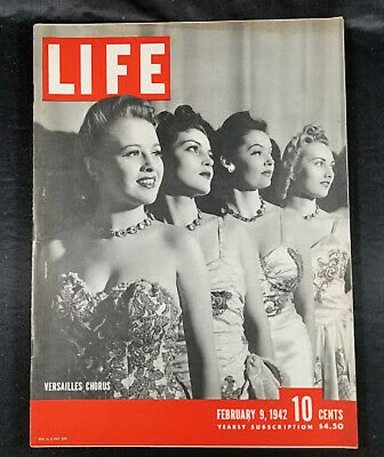 Life magazine on 9 February 1942, worldwartwo.filminspector.com