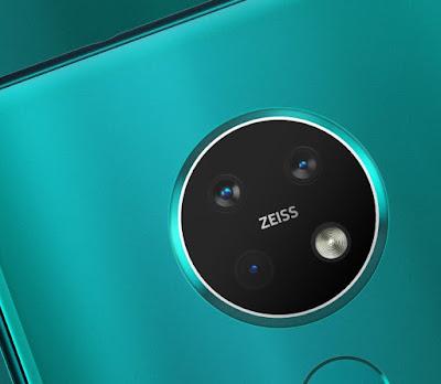 Nokia 7.2 : milieu de gamme équipé de 3 capteurs Carl Zeiss