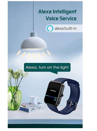 YAMAY Men Women with Alexa Built-in Smart Watch