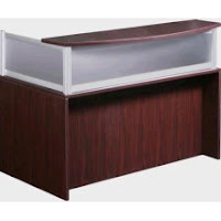 Mahogany Reception Desk