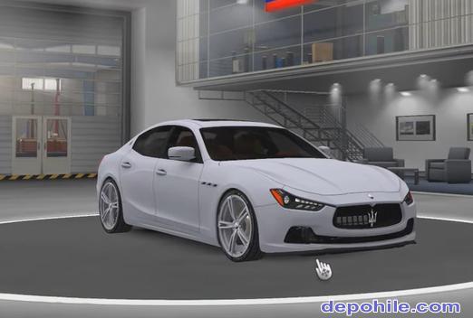 ETS2 1.35 Maserati Ghibli Araba Modu + Motor Sesi İndir 2019
