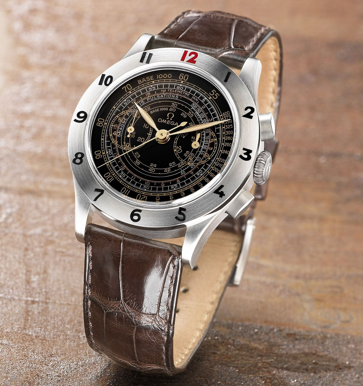 OMEGA Museum Collection 2003 - Mechanical Chronograph with Tachymeter, Telemeter & Pulsometer