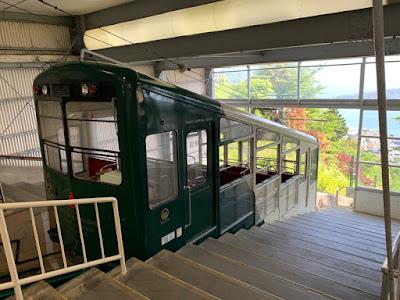 傘松公園ケーブルカー