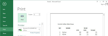 Cara untuk Memberi Bingkai pada Sel Menu pada Kotak Dialog Format Cells