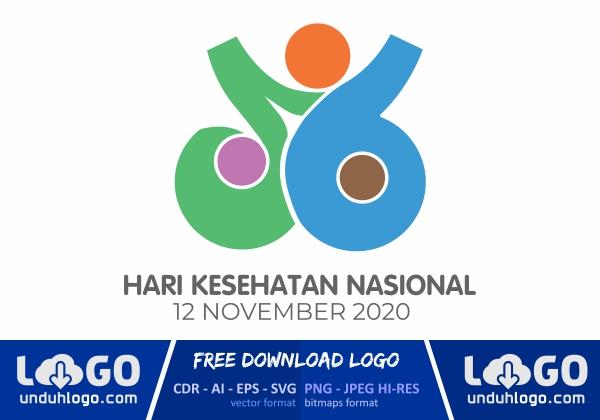 Logo Hari Kesehatan Nasional 2020