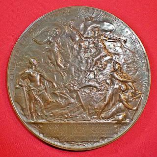 Medalla Conmemoración Termino Guerra del Pacifico