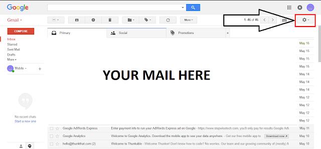 जीमेल अकाउंट का बैकअप कैसे ले (How to Backup Gmail ) 2