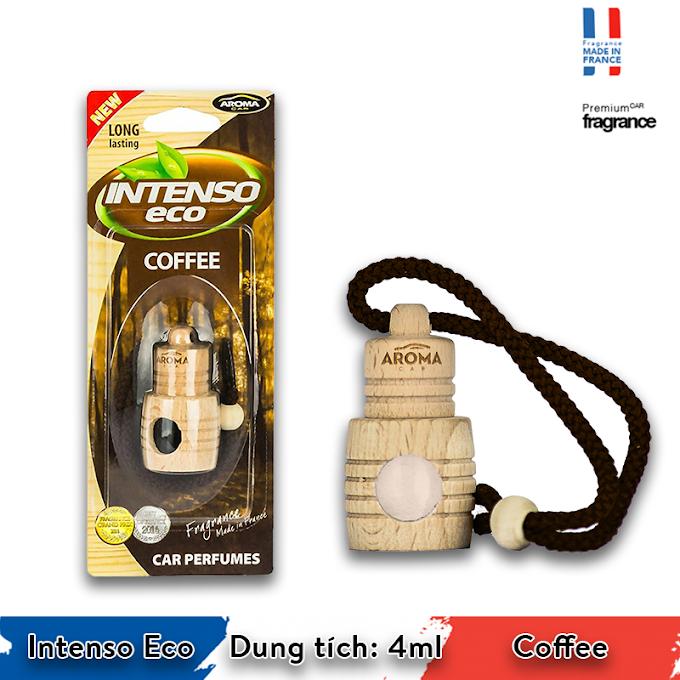 Tinh dầu treo xe Aroma Car Intenso Eco 4ml - Coffee