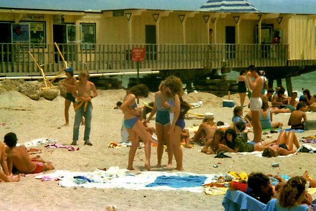 Eighties Beach Scenes Pictures Of Teenagers On The