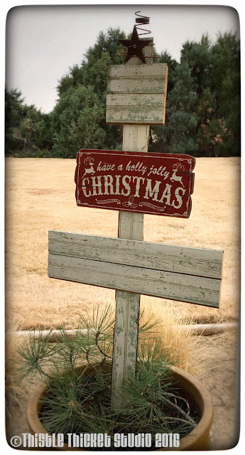 Thistle Thicket Studio, wooden Christmas trees, rustic Christmas trees, slate trees, bead boards